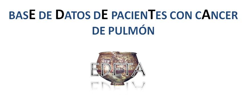 Registro Cáncer de Pulmón EDETA
