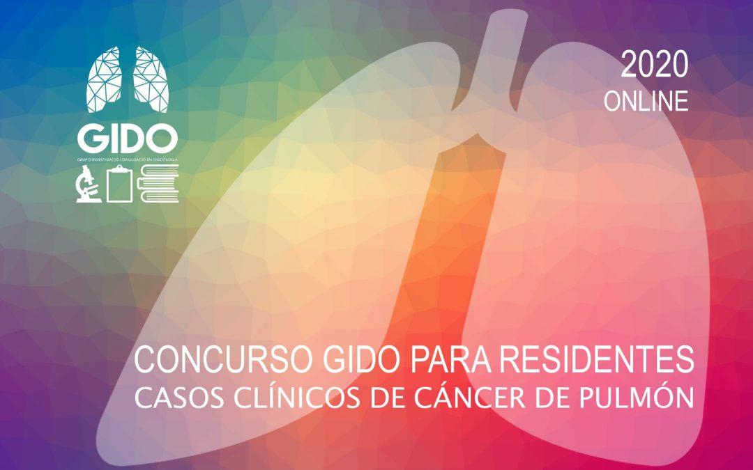 VIII Concurso GIDO para Residentes: Casos Clínicos de Cáncer de Pulmón 2020