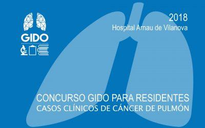 VI Concurso GIDO para Residentes: Casos Clínicos de Cáncer de Pulmón 2018